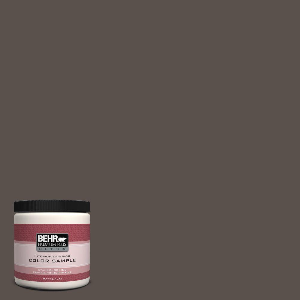 BEHR Premium Plus Ultra 8 oz. #790B-6 Stone Hearth Interior/Exterior Paint Sample