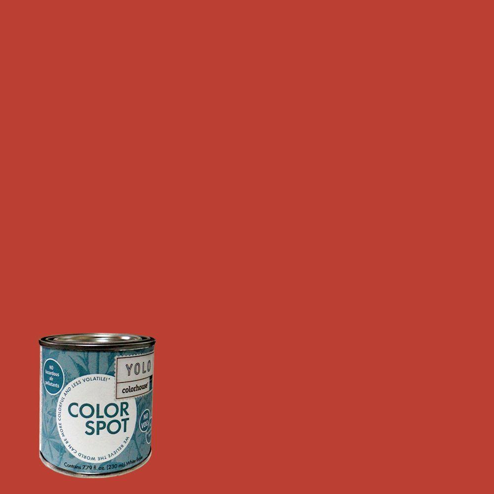 YOLO Colorhouse 8 oz. Petal .06 ColorSpot Eggshell Interior Paint Sample-DISCONTINUED
