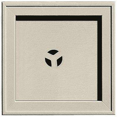 7.75 in. x 7.75 in. #089 Champagne Recessed Square Mounting Block
