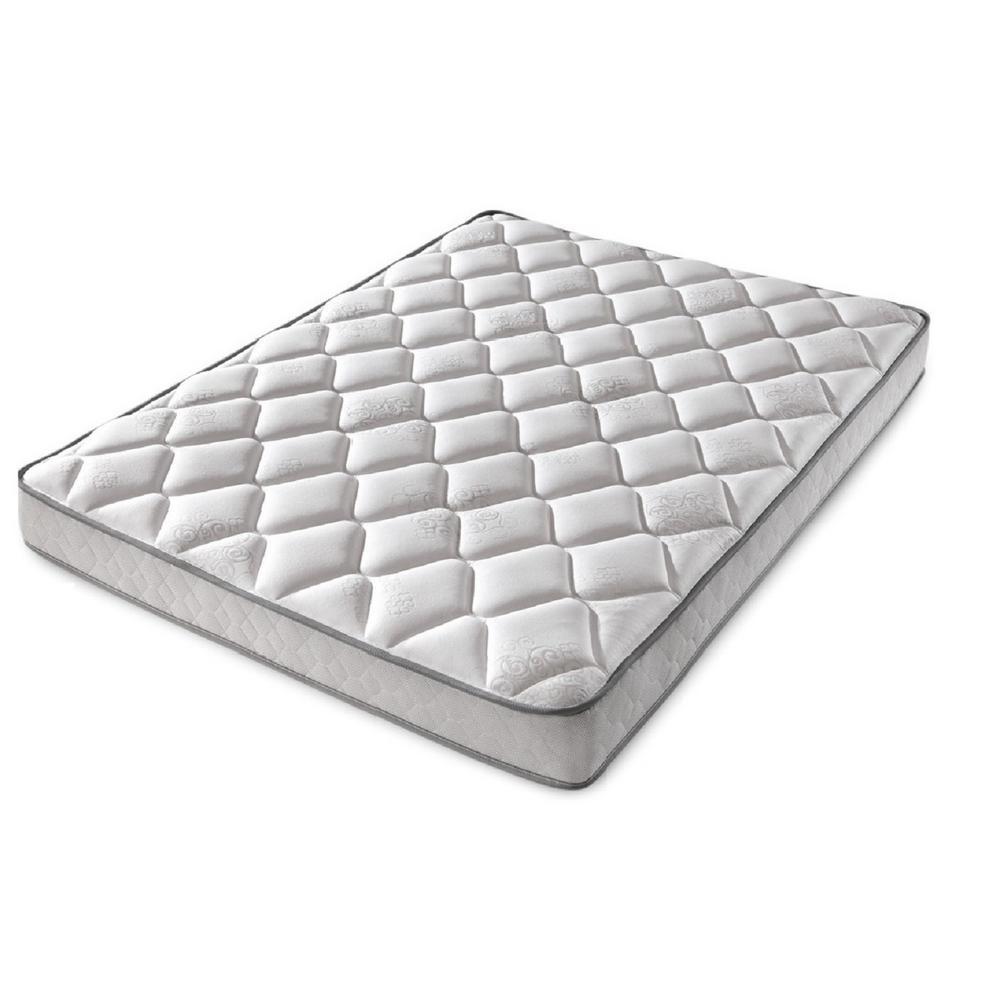 denver mattress rv collection rest easy plush 5 in deep twin mattress 360165 the home depot. Black Bedroom Furniture Sets. Home Design Ideas