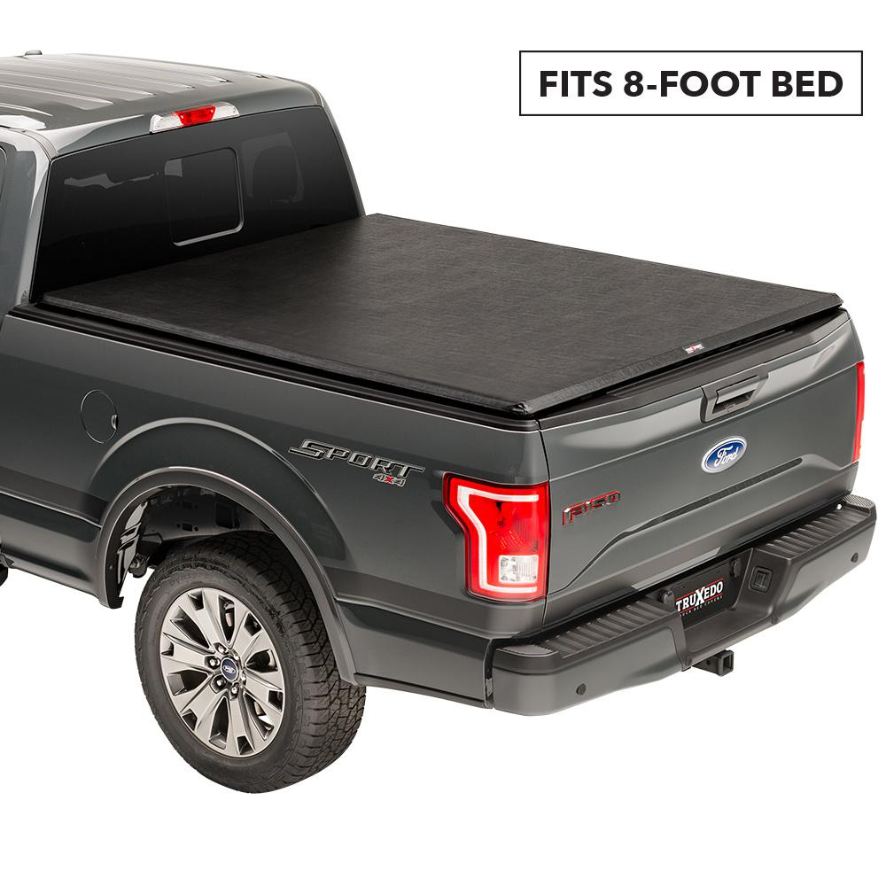 Truxedo Truxport 15 19 Ford F150 8 Ft Bed Tonneau Cover 298701 The Home Depot