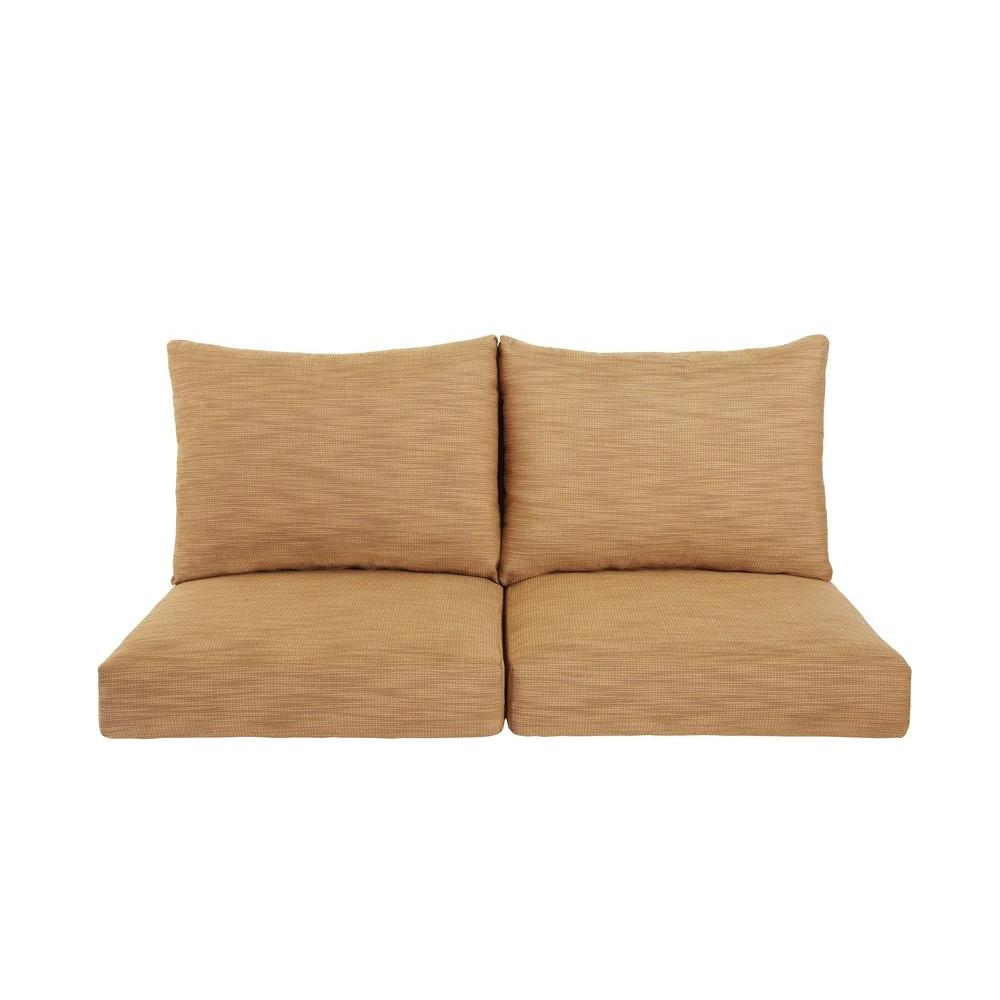 Marquis Replacement Outdoor Loveseat Cushion in Toffee