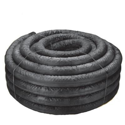 4 in. x 250 ft. Corex Drain Pipe Perforated with Sock