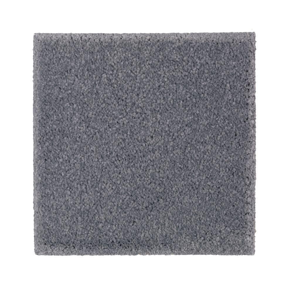 Carpet Sample - Gazelle II - Color Tide Pool Texture 8 in. x 8 in.