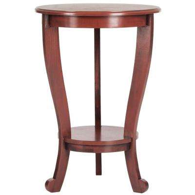 Mary Red Side Table