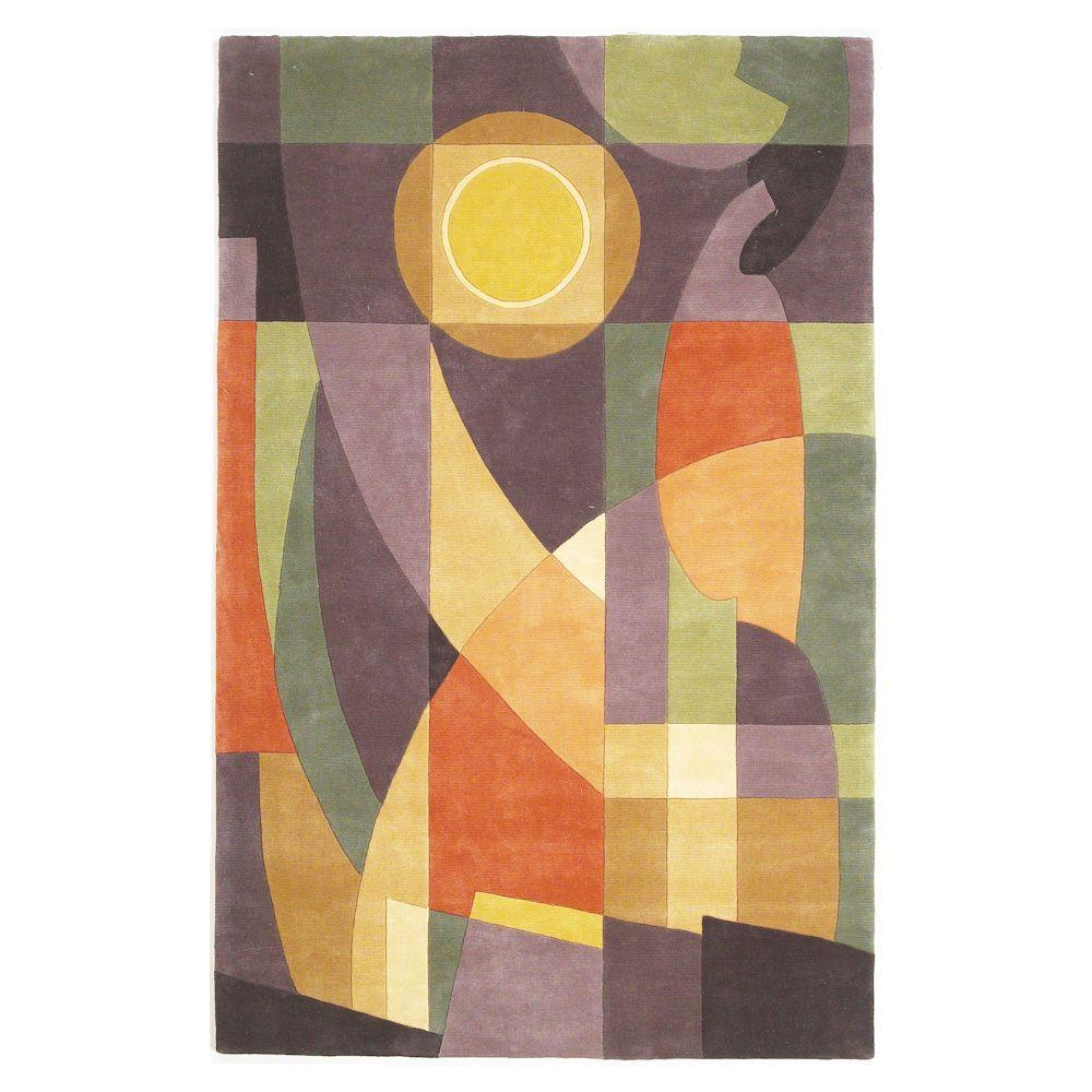 Kas Rugs Abstract Sun Pastels 4 ft. x 6 ft. Area Rug Create a classic atmosphere with the Kas Rugs 4 ft. x 6 ft. Area Rug. This area rug features stain-resistant fabrics and has fade-resistant materials. It is multi-colored, incorporating a cheerful and vibrant vibe into the room. It has an oriental pattern, upgrading the feel of your home design with a classic sophistication. With a 100% wool construction, this tufted rug insulates heat and keeps your feet feeling warm. It has reduced VOC emissions, ensuring that you don't need to ventilate it before taking it indoors. Color: Pastels.