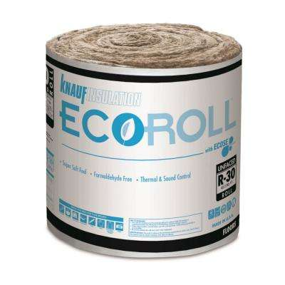 R-30 UnFaced Fiberglass Insulation Roll 23 in. W x 22 ft. L