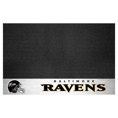 Baltimore Ravens 26 in. x 42 in. Grill Mat