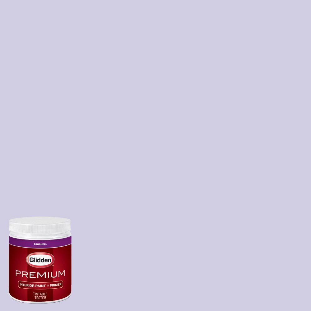 Purple Interior Paint: Glidden Premium 8 Oz. #HDGV44 Iced Purple Eggshell