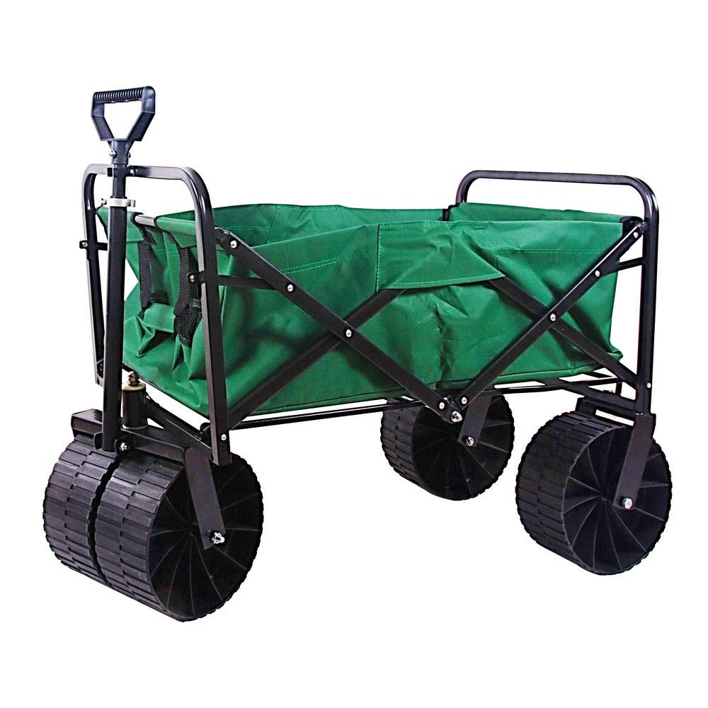 3.5 cu. ft. 21 in. W Steel Folding Wagon