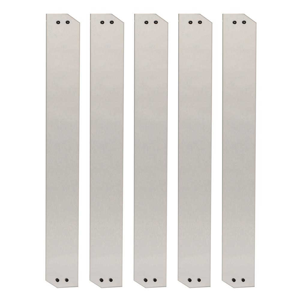 4 in. x 32 in. Clear Glass Baluster (5-Pack)