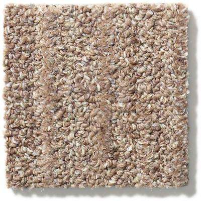 Desert Dawn Tumbleweed Patterned 9 in. x 36 in. Carpet Tile (8 Tiles/Case)
