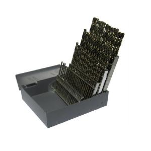 Click here to buy Drill America Heavy Duty High Speed Steel Jobber Drill Bit Set (60-Pieces) by Drill America.
