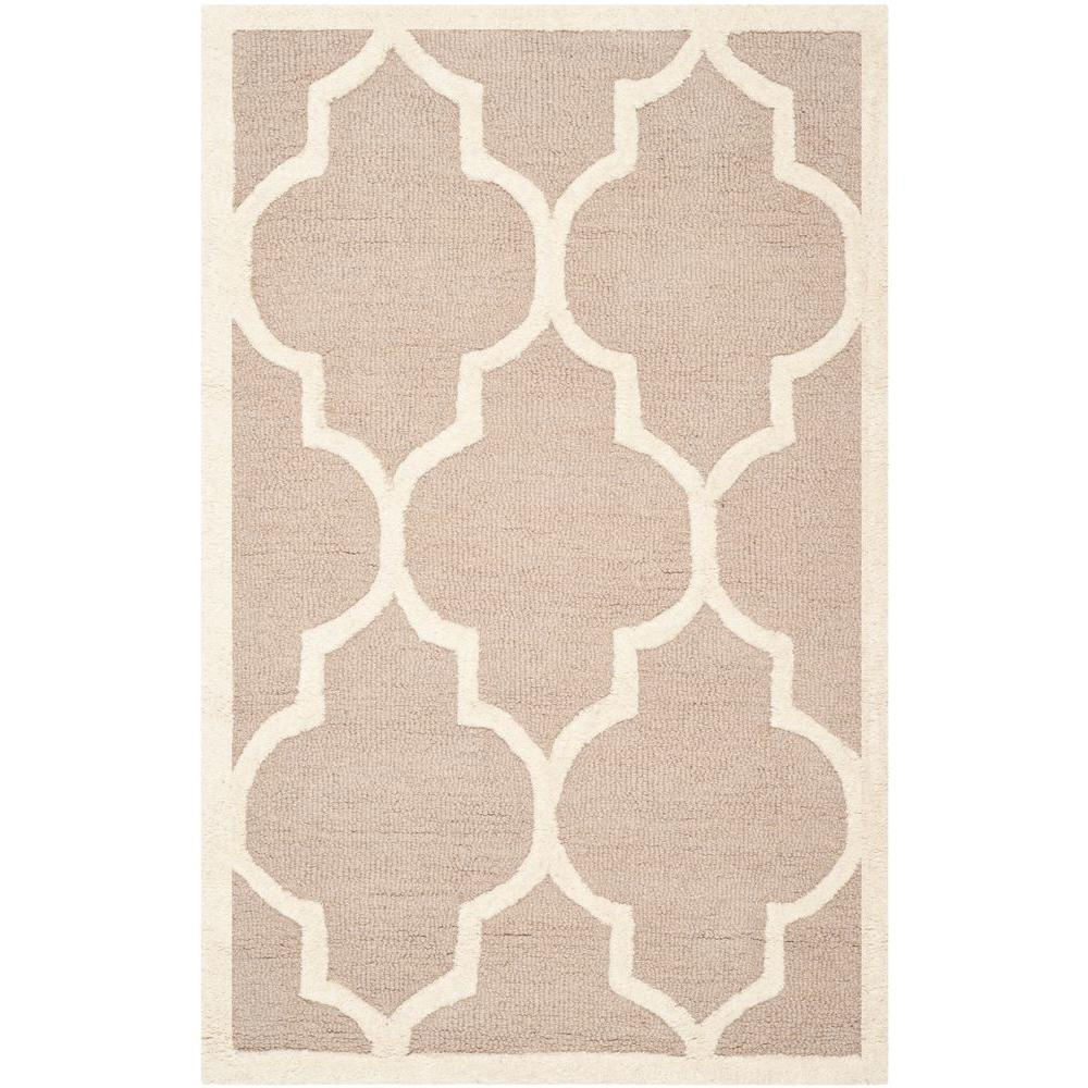 Safavieh Cambridge Beige/Ivory 2 ft. x 3 ft. Area Rug