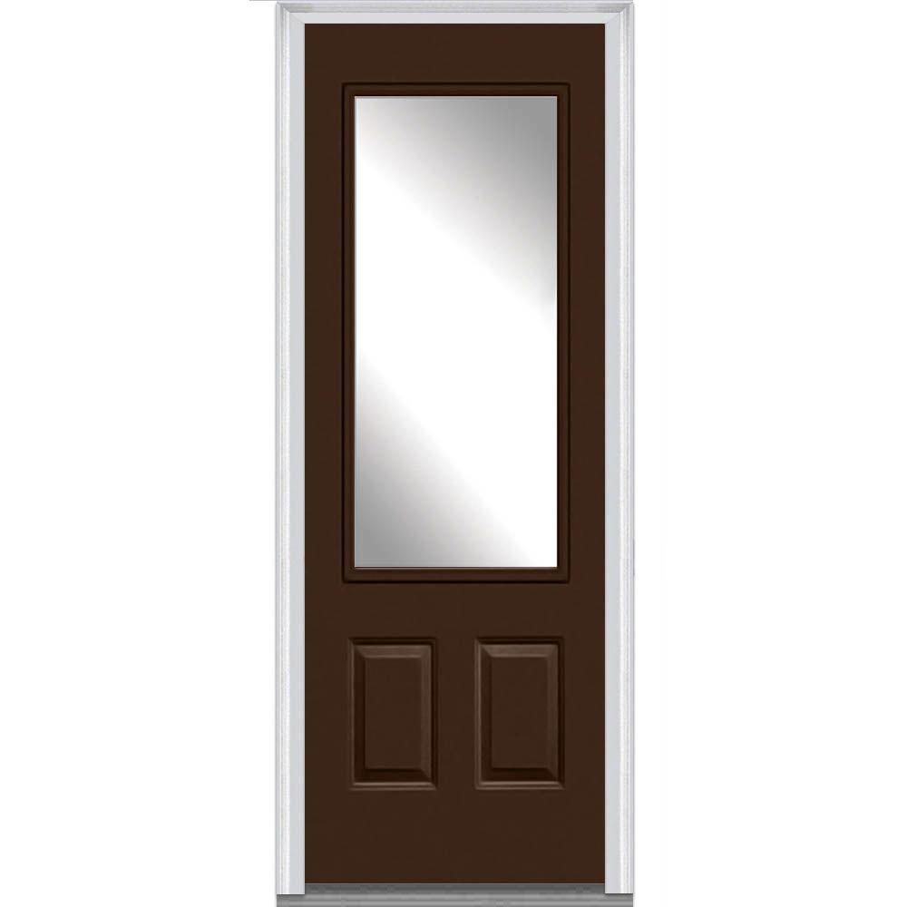 Mmi Door 36 In X 96 In Clear Glass Right Hand 3 4 Lite 2