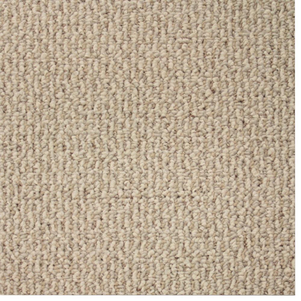 Carpet Sample - Skill Set - Color Ivory Loop 8 in. x 8 in.