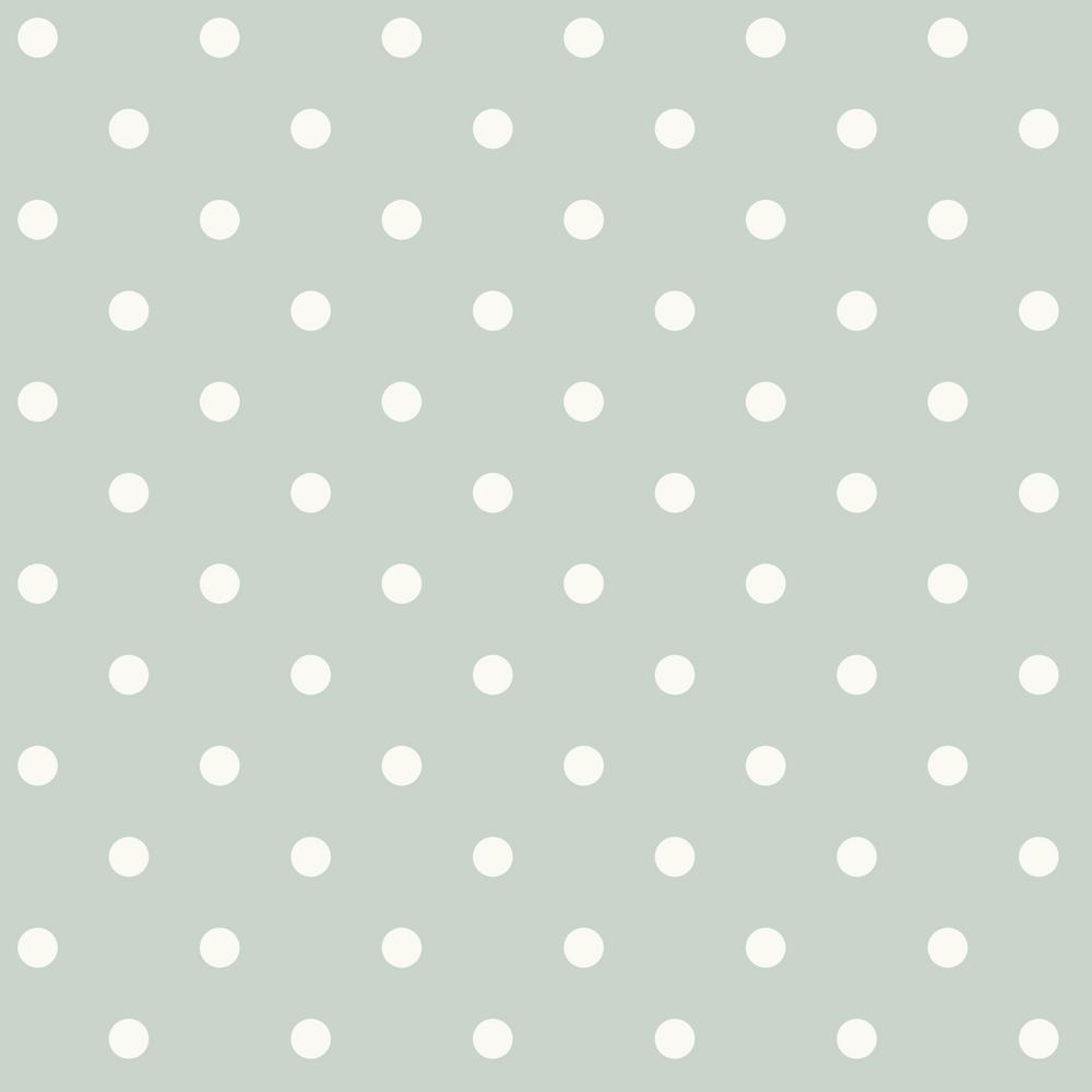 56 Sq Ft Dots On Dots Removable Wallpaper
