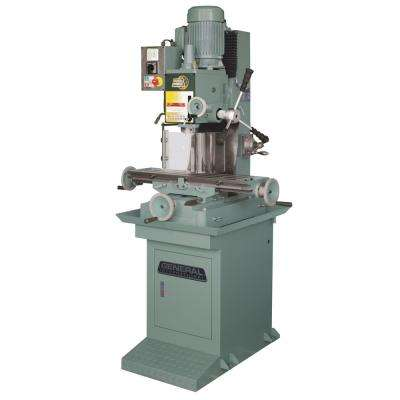75.6 in. Industrial Geared Head Milling Machine and Drill Press