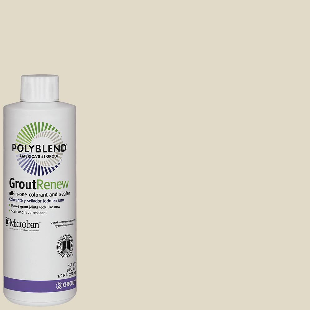 Polyblend #333 Alabaster 8 fl. oz. Grout Renew Colorant