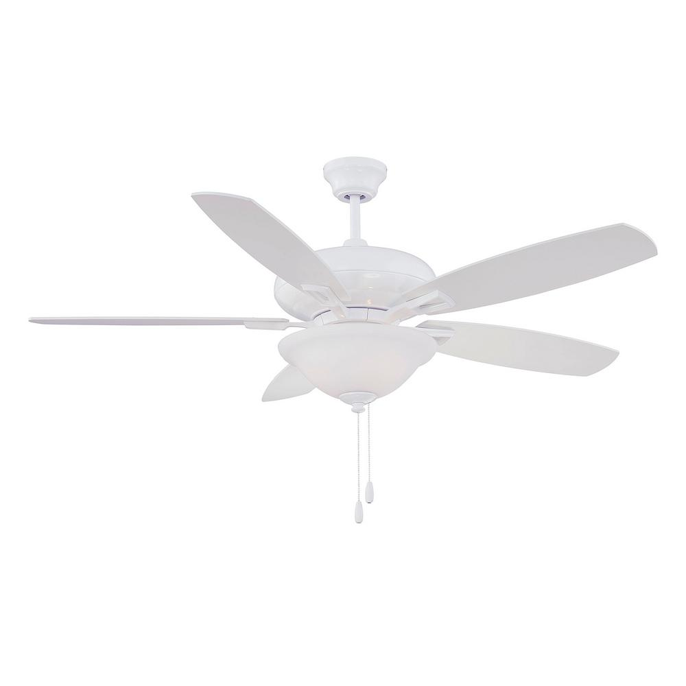 Filament Design 52 in. White Ceiling Fan