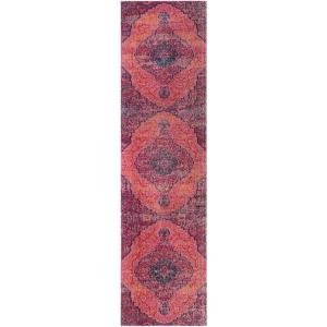 Artisan Fuchsia/Multi 2 ft. 2 in. x 8 ft. Runner