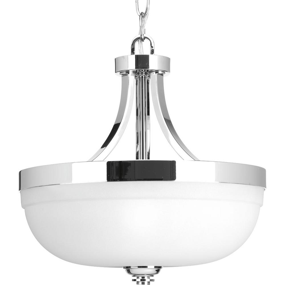 bd0f9d69eb63 Progress Lighting Topsail Collection 3-Light Polished Chrome Semi ...