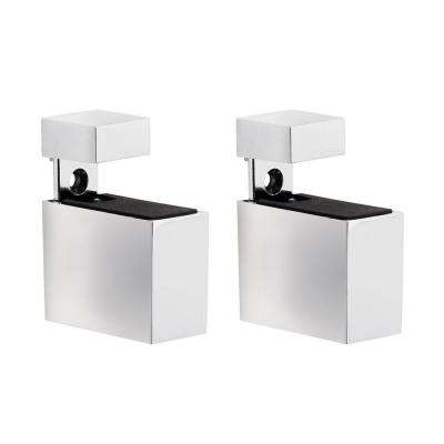 Cuadro 3/16 in. - 3/4 in. Adjustable Shelf Support in Chrome