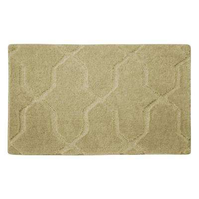 Pearl Drona Banana 20 in. x 32 in. Bath Mat