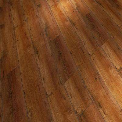 Old Oak 12 mm Thick x 6.65 in. Wide x 48 in. Length Click-Locking Laminate Flooring Planks (17.68 sq. ft. / case)