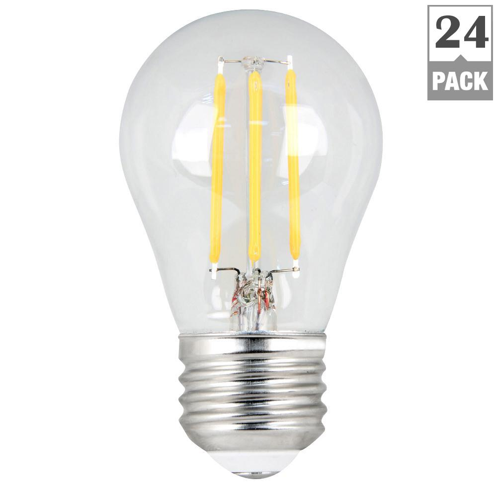 Feit Electric 60w Equivalent Daylight 5000k A15 Dimmable Filament Led Medium Base Clear Light