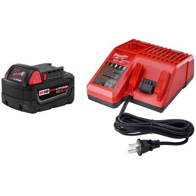 M18 18-Volt Lithium-Ion XC Starter Kit with (1) 5.0Ah Battery and Charger