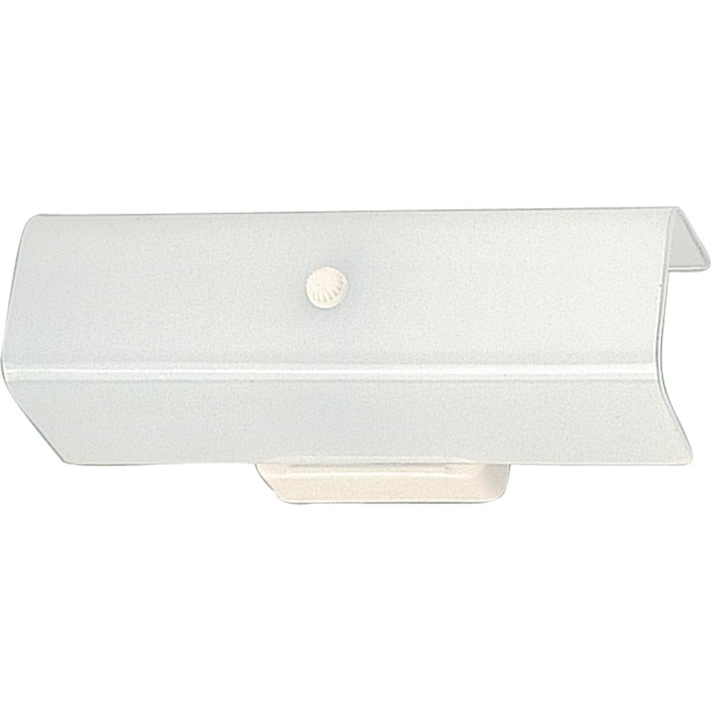 Volume Lighting 2-Light White Bath And Vanity Light-V1902