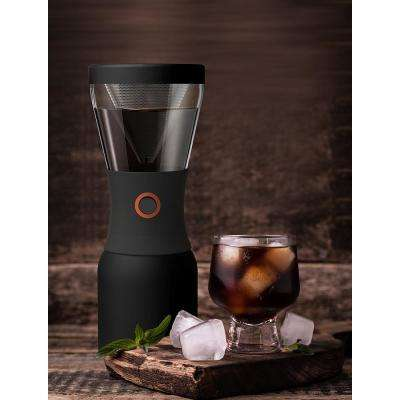 40 oz. Black Stainless Steel Cold Brew Coffee Maker