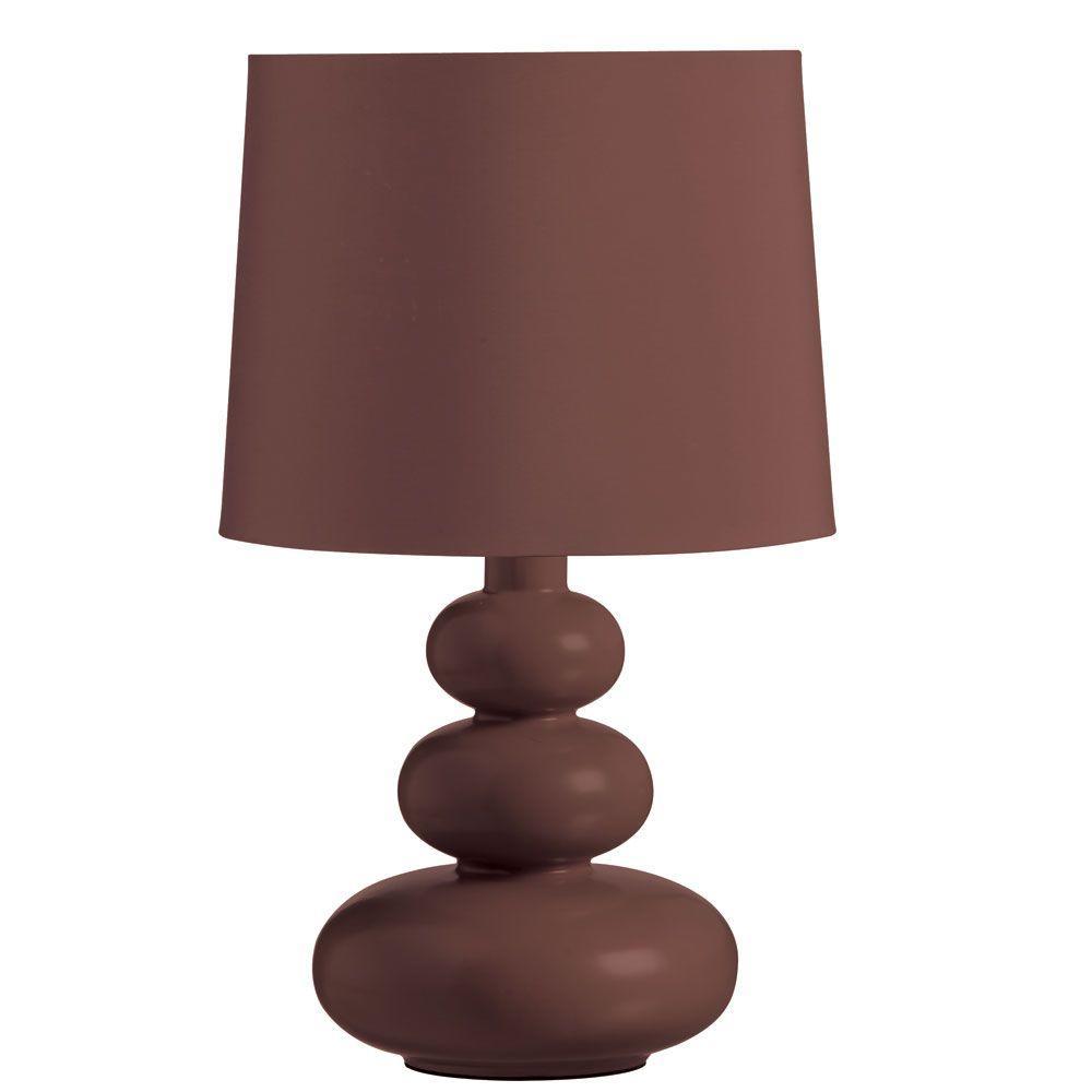 Cathrine 1 Light 17.5 in. Redwood Table Lamp