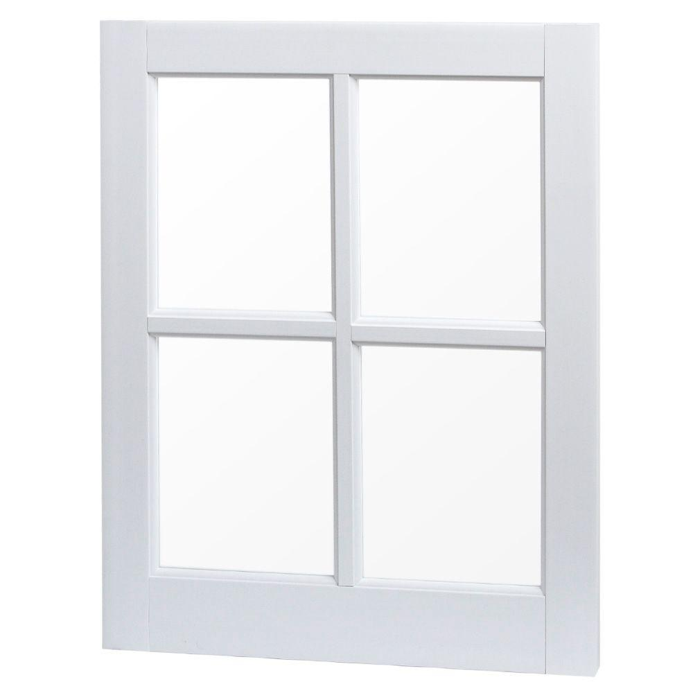 Tafco Windows 20 In X 25 Utility Fixed Picture Vinyl Window With Grid