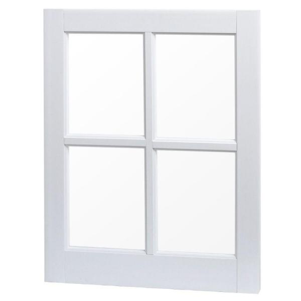 Weatherstar 32 In X 14 In Basement Storm Window C4031 The Home Depot