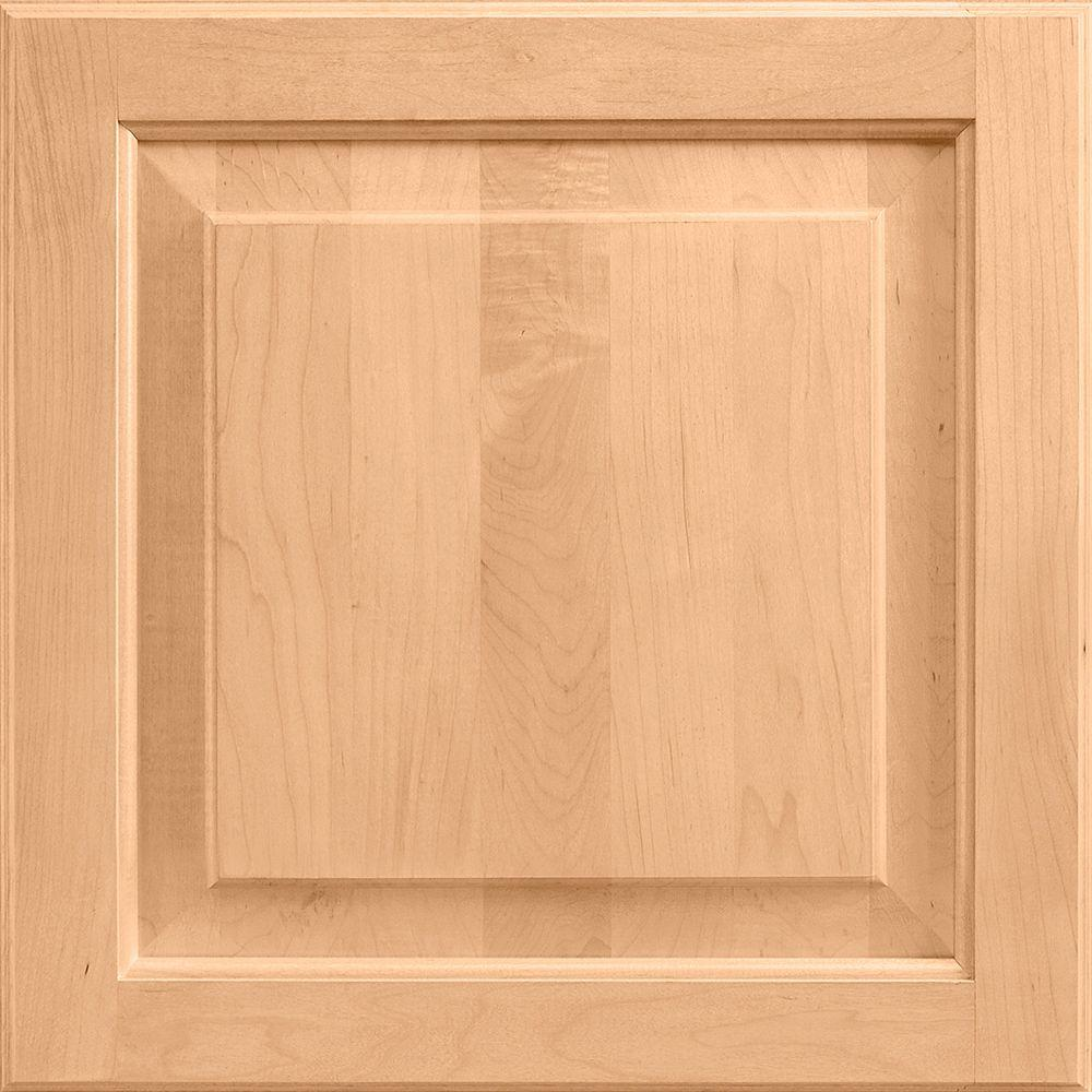 14-9/16x14-1/2 in. Cabinet Door Sample in Charlottesville Maple Honey
