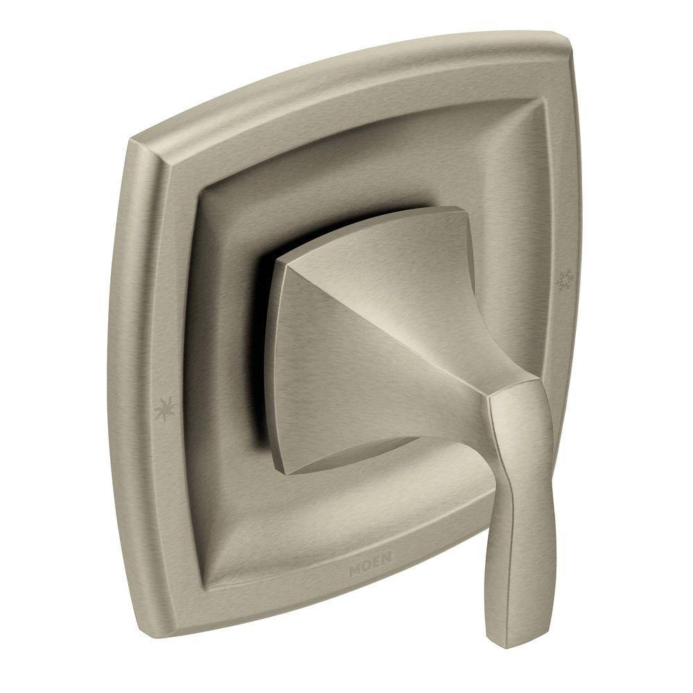 moen voss 1 handle moentrol valve trim kit in brushed nickel valve