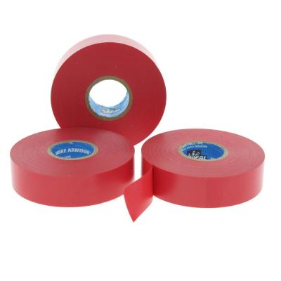 Wire Armour 3/4 in. x 66 ft. Premium Vinyl Tape, Red (10-Pack)