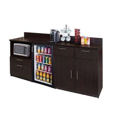 Coffee Kitchen Espresso Sideboard With Lunch Break Room Functionality Embled Commercial Grade