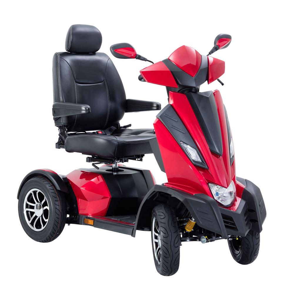 Drive King Cobra Executive Power Scooter 4-Wheel with 22 ...