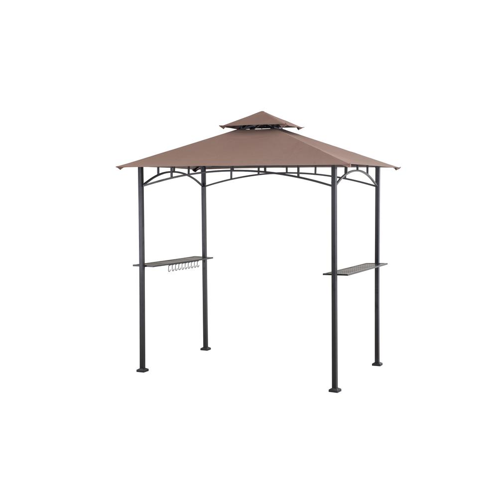 Sunjoy 5 ft. x 8 ft. Soft Top Grill Gazebo  sc 1 st  The Home Depot & Sunjoy 5 ft. x 8 ft. Soft Top Grill Gazebo-110103014 - The Home Depot