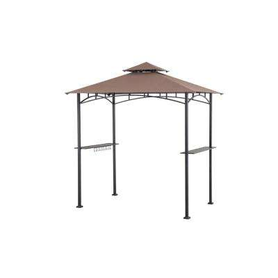 5 ft. x 8 ft. Soft Top Grill Gazebo