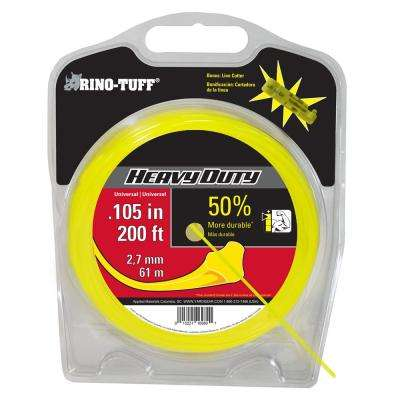 Universal 0.105 in. x 200 ft. Heavy-Duty Trimmer Line