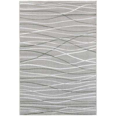 Grace Gray 7 ft. 9 in. x 9 ft. 5 in. Plush Indoor Area Rug