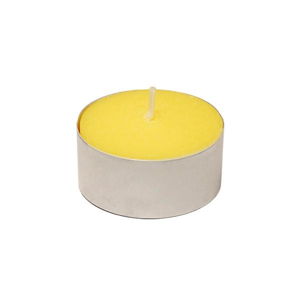 LUMABASE - Extended Burn Citronella Tealight Candles (100-Count)