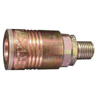 1/4 in. MNPT P Style Coupler (5-Piece)