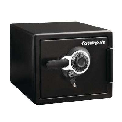 0.8 cu. ft. Steel Fire-Resistant Waterproof Combination Dial Lock, Black