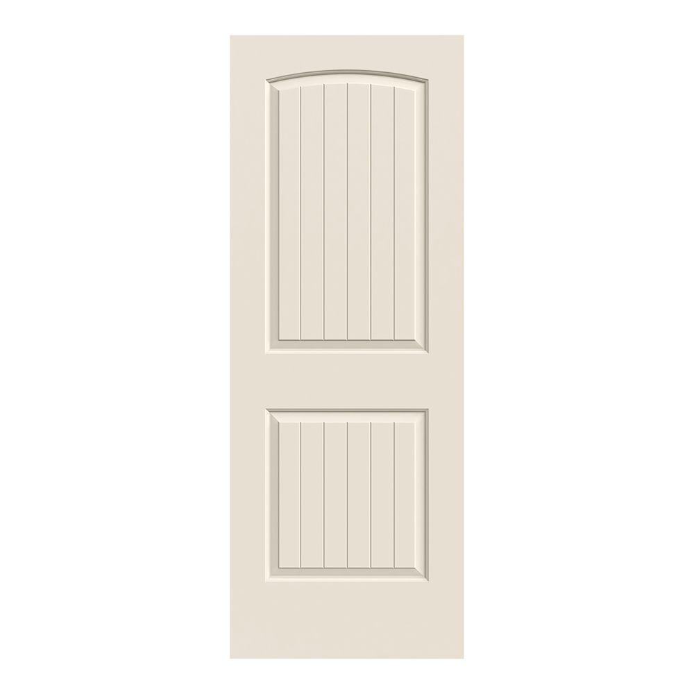 Very best JELD-WEN 30 in. x 78 in. Santa Fe Primed Smooth Molded Composite  AK77