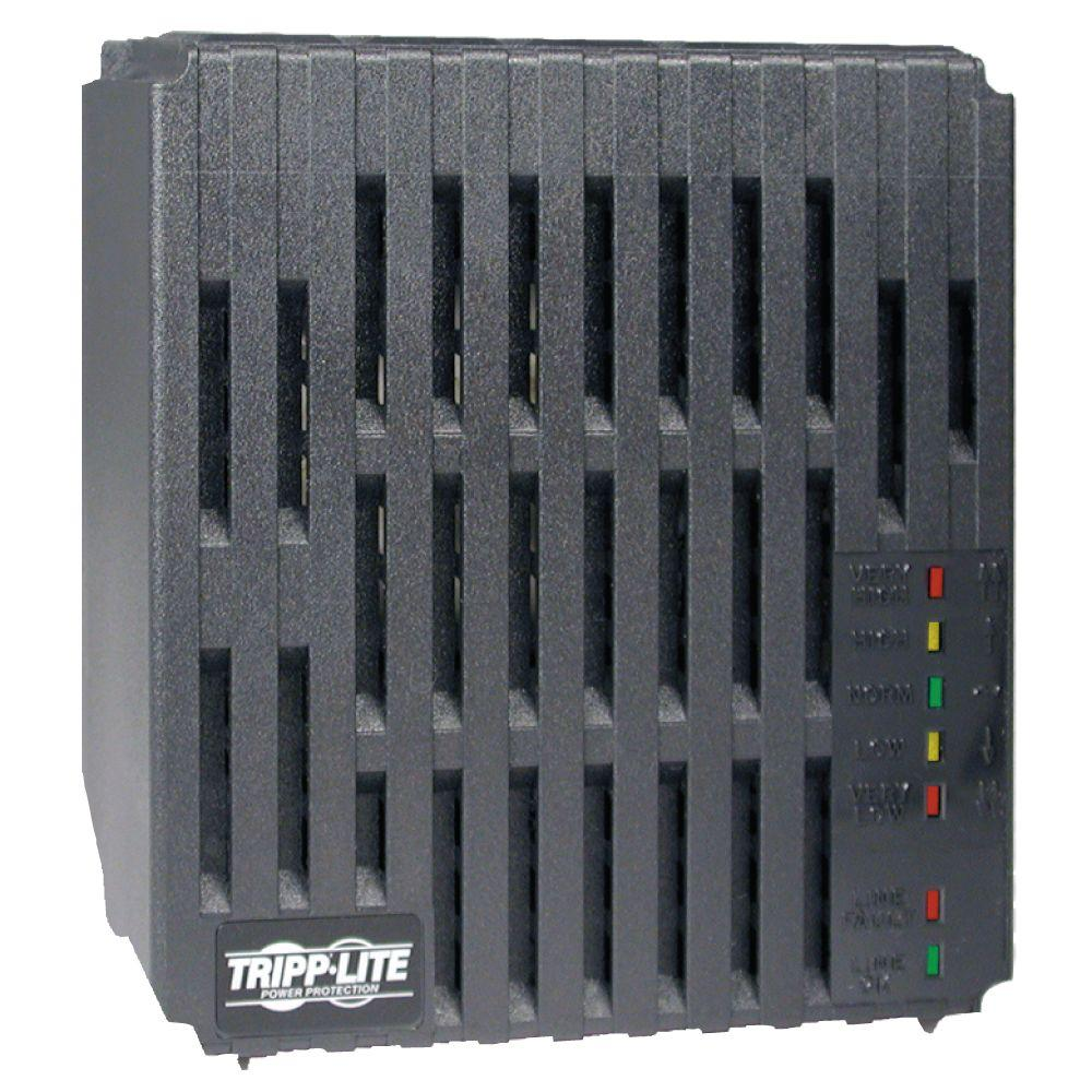 Tripp Lite Line Conditioner 1200 Watt AVR Surge 120-Volt 10-Amp 60Hz 4 Outlet 7-ft. Cord